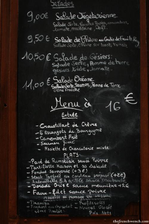 Restaurant Pas Cher Rue Montorgueil