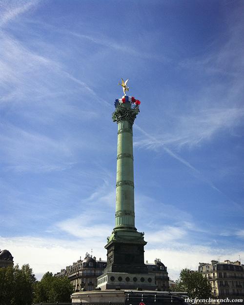 Genie de la Liberte Bastille