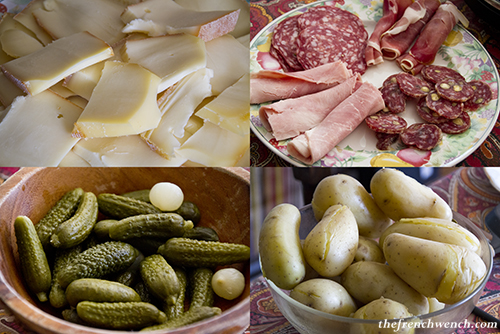 Raclette 4 ingredients