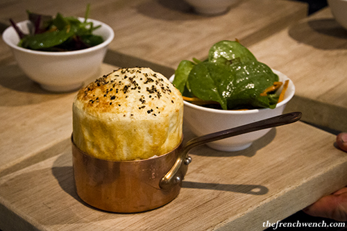 3 cheese souffle