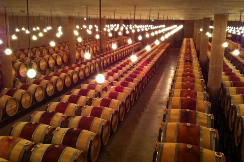 Barrel Room, Chateau Latour